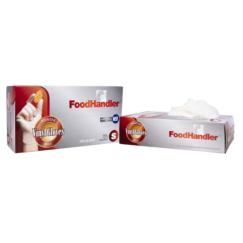 Pack of 400 Clear X-Large Vinyl FoodHandler 102-FHCN18 FoodHandler Contact